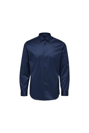 Camicia blu notte slim Selected Selected | 6 | 16065894INSBL