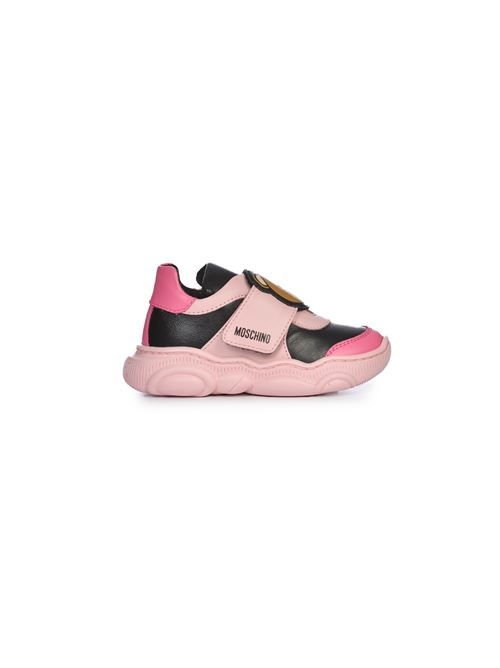 Sneakers rosa Teddy Moschino | 12 | 6878301