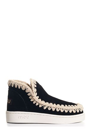 Summer eskimo Sneaker perforated suede black Mou | 12 | 211000OBKWH