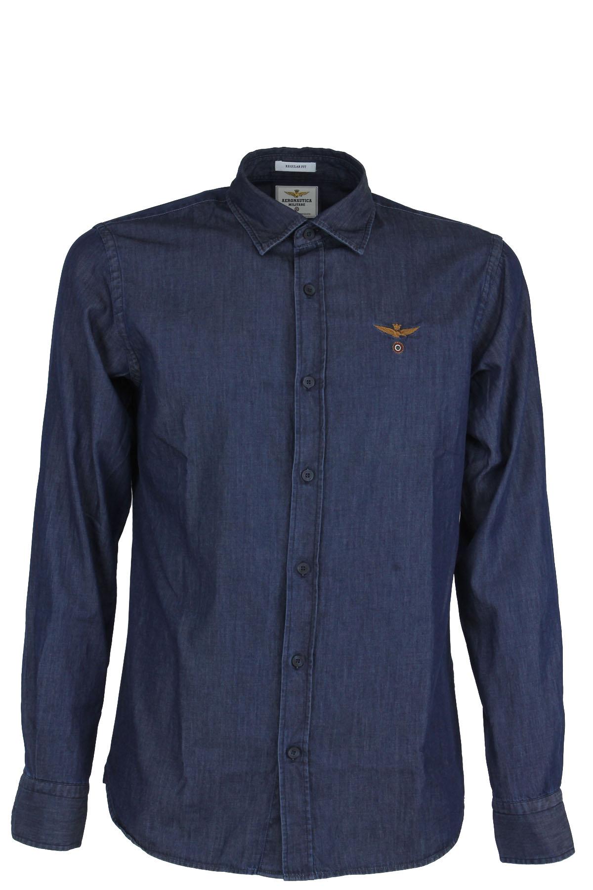 2ec7d9aa55 Camicia jeans demin uomo