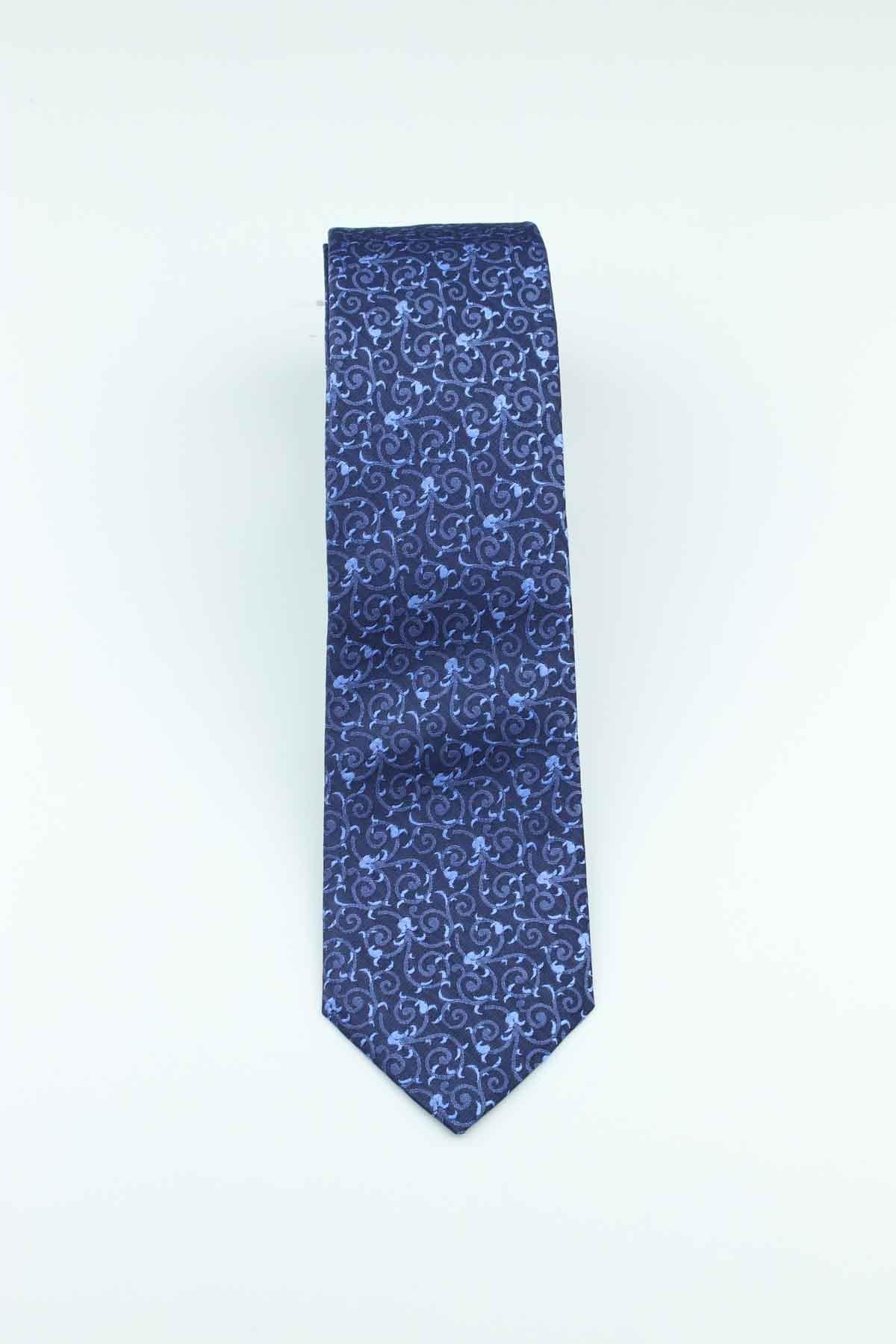 vende stili classici migliore a buon mercato Cravatta 6 cm fantasia fiori pura seta