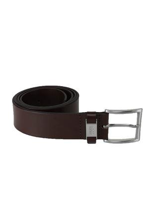 Cintura in pelle con passante con rifinitura in metallo HUGO BOSS | -1561109086 | CONNIO6034202