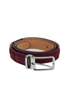 Cintura in alcantara Paolo da Ponte | -1561109086 | PA46023