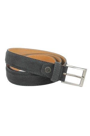 Cintura in alcantara Paolo da Ponte | -1561109086 | PA708F3546GRI