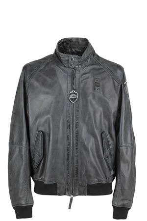 Man leather bomber jacket BLAUER | 18 | BLUL03700002914999
