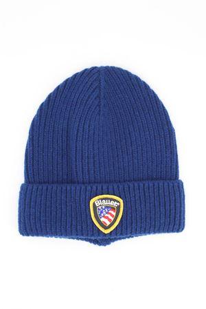 Cappellino cuffia in lana con risvolto BLAUER | -1033670417 | BLUA05589003937875