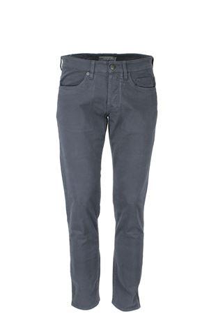 Pantalone 5 Tasche cotone stretch microfantasia Siviglia | 146780591 | 23F2S0096846