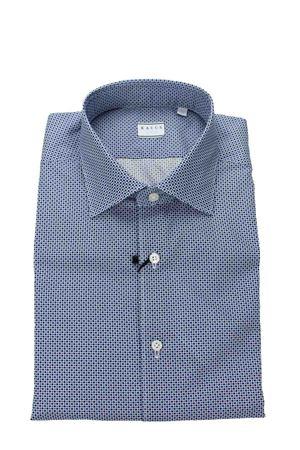 Camicia sportiva cotone fantasia XACUS | -880150793 | 53271516002