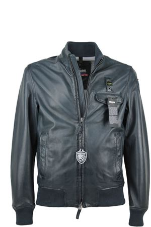 Man leather bomber jacket BLAUER | 18 | BLUL02341002914896