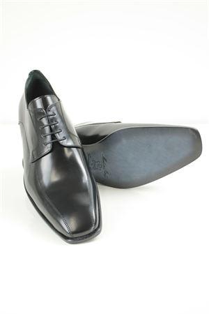 scarpe cerimonia uomo allacciate Principe di Milano | 61 | 1201SPAZZOLATONERO