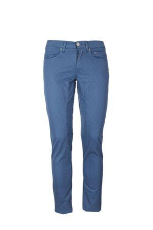 Pantalone 5 tasche toppa a fantasia stretch Siviglia | 146780591 | 21F2S0226478