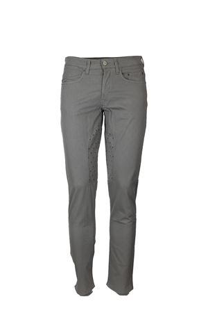 Pantalone 5 tasche toppa a fantasia stretch Siviglia | 146780591 | 21F2S0228655
