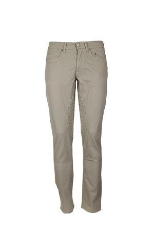 Pantalone 5 tasche toppa a fantasia stretch Siviglia | 146780591 | 21F2S0221471