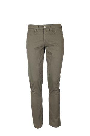 Pantalone 5 tasche toppa a fantasia stretch Siviglia | 146780591 | 21F2S0222211