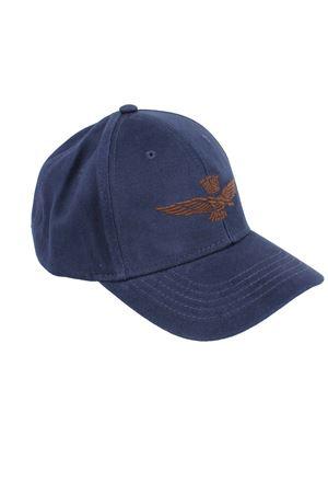 Cappellino in cotone con visiera Aeronautica Militare | -1033670417 | HA96008184