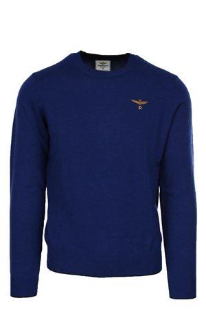 Maglione pullover girocollo lana Aeronautica Militare   435618598   MA106821191