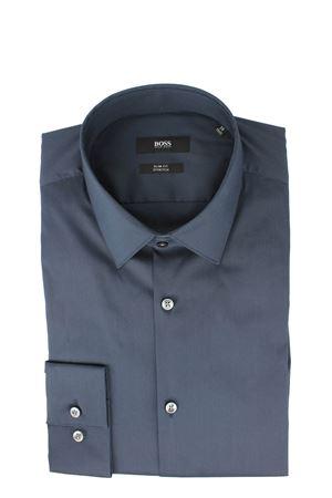 Camicia manica lunga cotone stretch HUGO BOSS | -880150793 | ISKO1300410