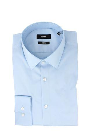 Camicia manica lunga cotone stretch HUGO BOSS | -880150793 | ISKO1300450