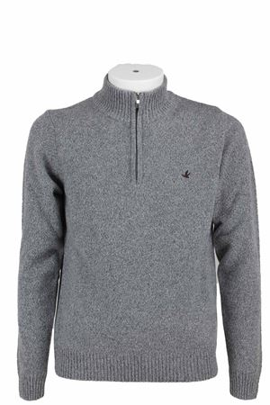 Maglione lupetto zip lana BROOKSFIELD | 435618598 | 203GK0210032