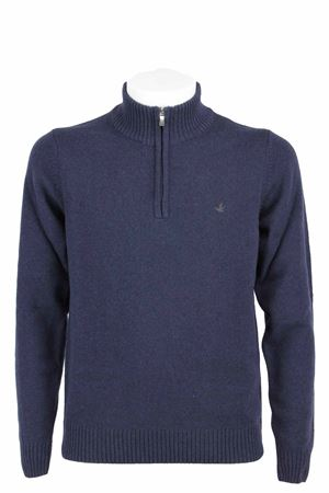 Maglione lupetto zip lana BROOKSFIELD | 435618598 | 203GK0210037