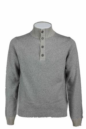 Maglione lupetto bottoni lana Heritage | 435618598 | 227L802257
