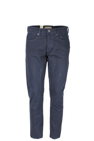 Pantalone 5 tasche cotone microfantasia con toppa Siviglia | 146780591 | 21F2S0086681