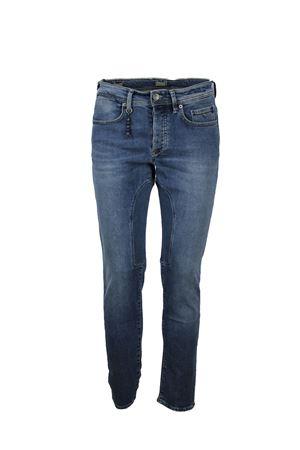 Jeans uomo 5 tasche stretch toppa Siviglia | 4 | 21Q3S4326002