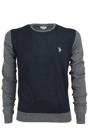 Maglia pullover girocollo lana multicolor US Polo Assn | 435618598 | 4295451958398