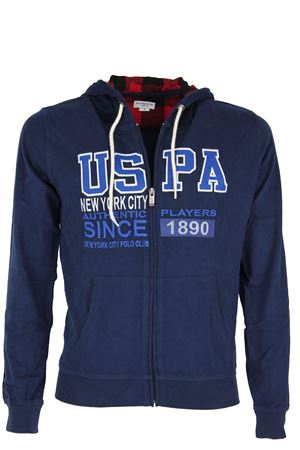 Felpa cardigan zip con cappuccio US Polo Assn | 435618598 | 4266934502177