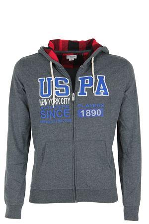 Felpa cardigan zip con cappuccio US Polo Assn | 435618598 | 4266934502189