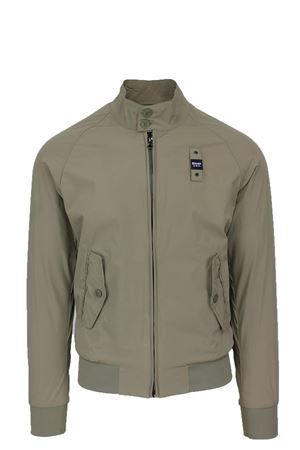 NYLON STRETCH JACKET RYAN BLAUER | 925341562 | BLUC04058004889338