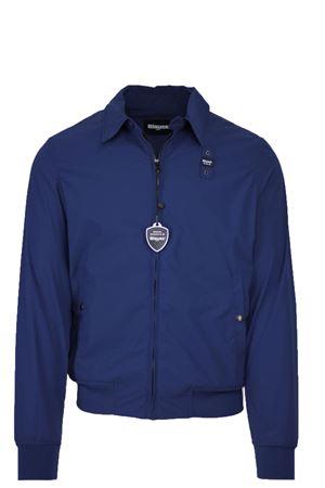 Lightweight jacket with shirt collar, CONNOR BLAUER | 925341562 | BLUC04068004888867