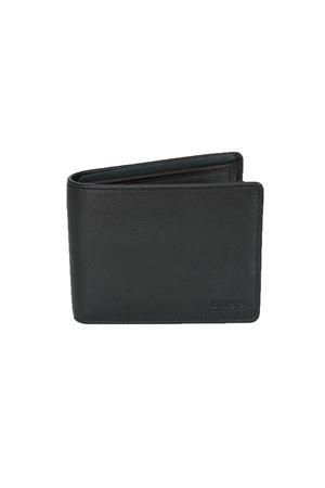 Portafoglio ripiegabile in pelle liscia con portamonete HUGO BOSS | 1612076599 | ASOLO2969001