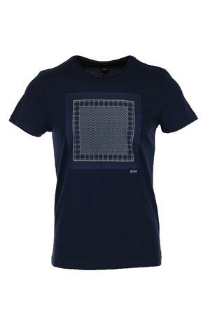 Maglia t shirt mezza manica stampa HUGO BOSS | 34 | TESSLER846613410
