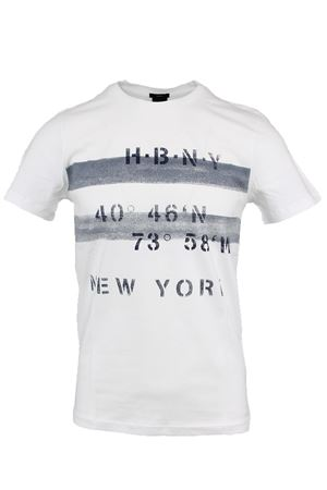 T-shirt mezza manica stampa New York HUGO BOSS | 34 | TESSLER926613100