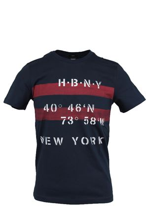 T-shirt mezza manica stampa New York HUGO BOSS | 34 | TESSLER926613410