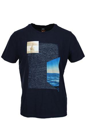 T-Shirt mezza manica stampa HUGO BOSS | 34 | TRIEN4923404