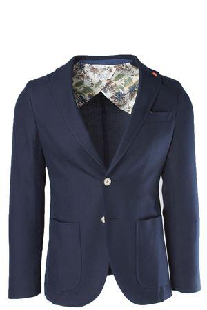 Giacca blazer sfoderata cotone e lana Manuel Ritz | 1524822584 | 2432G203818315089