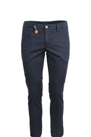 Pantalone tasche america cotone microperato Manuel Ritz | 146780591 | 2432P1578T18336189