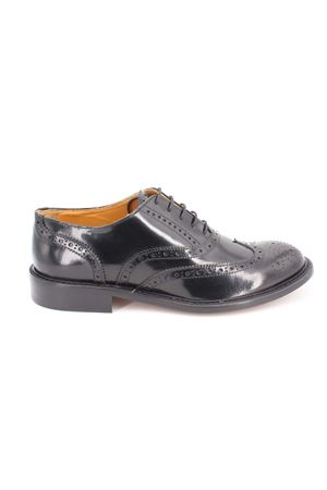 Scarpe oxford Brogue in vitello spazzolato. Marc Edelson | -1668035723 | 4525ABRASIVATONERO
