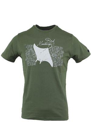 T-shirt mezza manica con stampa manta RRD | 34 | 1812621