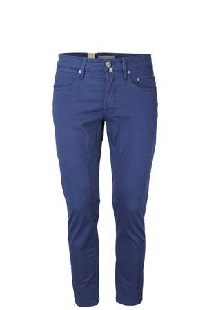 Pantalone 5 tasche cotone stretch con toppa Siviglia | 146780591 | 21E3S0306660