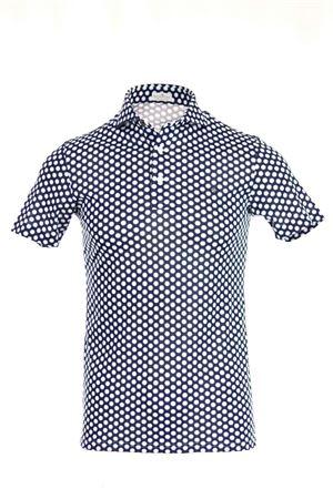 Polo camicia mezza manica pois SONRISA | 435618598 | FJ11MB738J24704