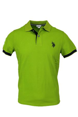Polo mezza manica piquet fluo bordi in contrasto US Polo Assn | 34 | 4376541029241