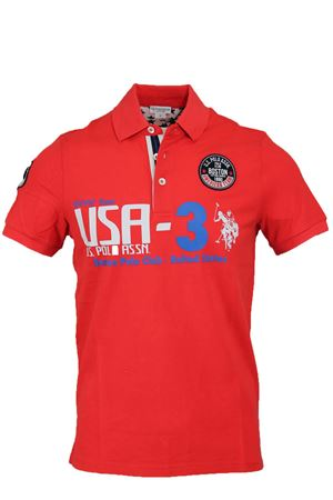 Polo mezza manica piquet Boston Polo club US Polo Assn | 34 | 4376941029215