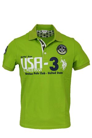 Polo mezza manica piquet Boston Polo club US Polo Assn | 34 | 4376941029241