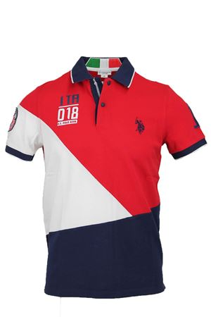 Polo mezza manica multicolore US Polo Assn | 34 | 4377241029550