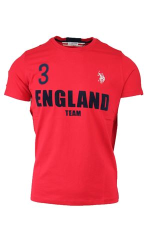 T-shirt mezza manica nazioni England US Polo Assn | 34 | 4380049351155