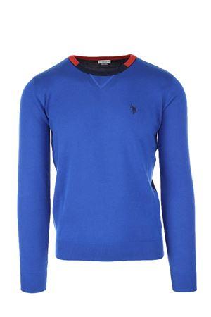 Pullover girocollo multicolor cotone US Polo Assn | 435618598 | 4401551727537