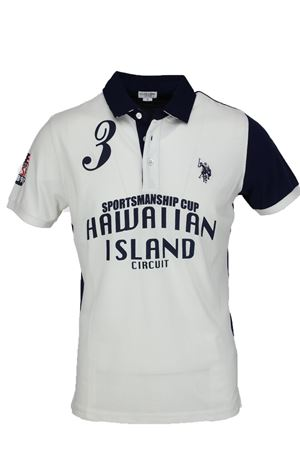 Polo mezza manica Hawaiian island US Polo Assn | 34 | 4510541029507